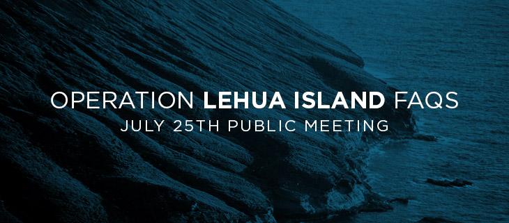 operation lehua island hawaii