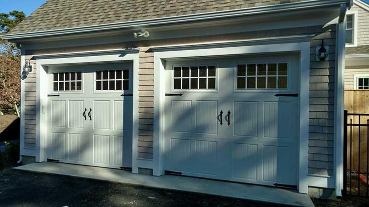 Amarr Classica Residential Garage Door  Island Door Cape Cod Massachusetts