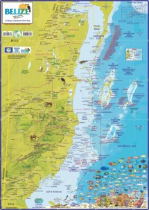 Detailed Map Belize
