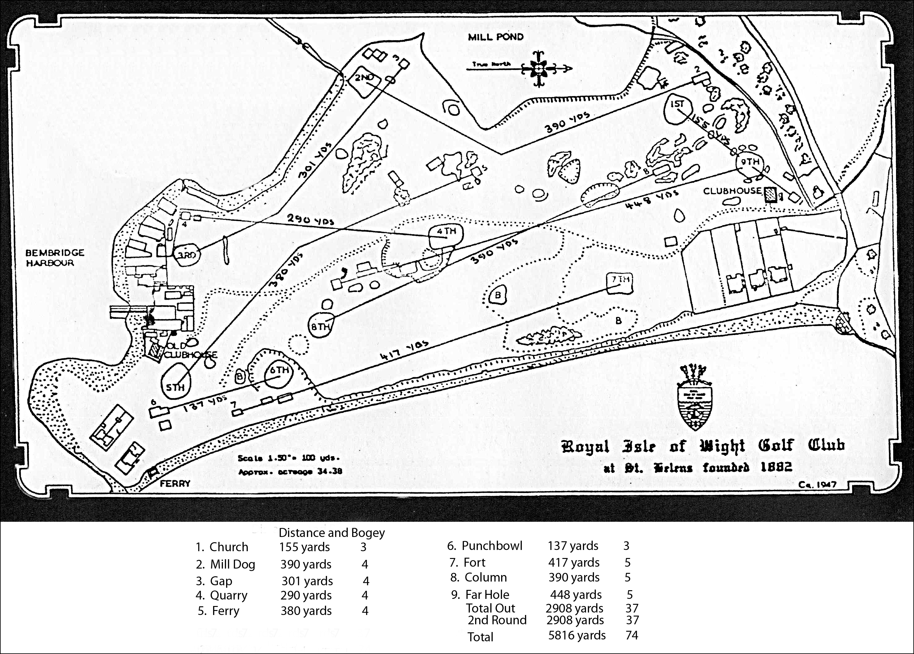History: The Royal Isle of Wight Golf Club