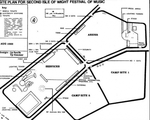 History: Isle of Wight Pop Festival 1969