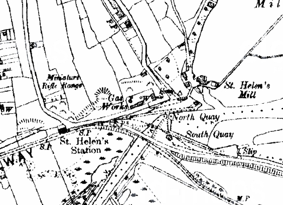 History: St Helen's Gas Works