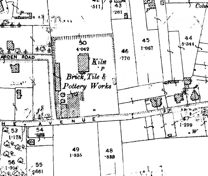History: Colwell Brick Tile And Pottery Works