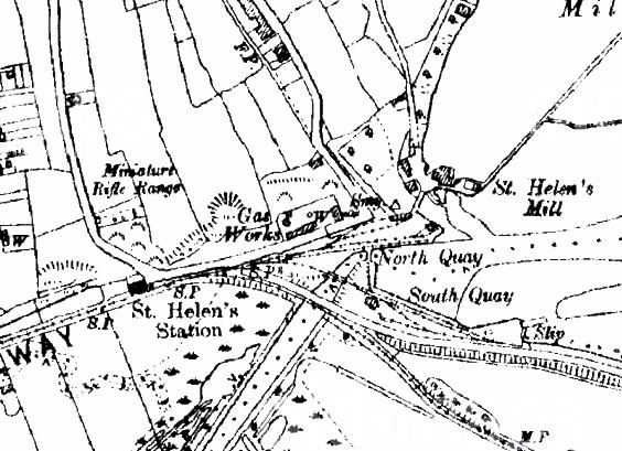 History: St. Helen's Station (Steam)