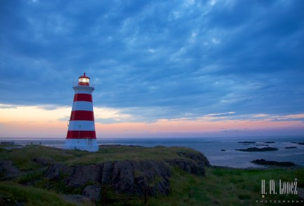 Brier Island Light at Dusk