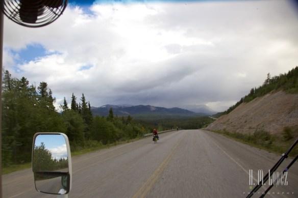 Cycling the Alaska Highway!