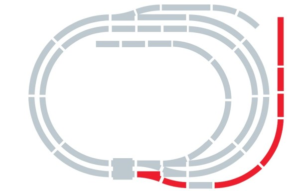 Hornby Track Extension Pack E