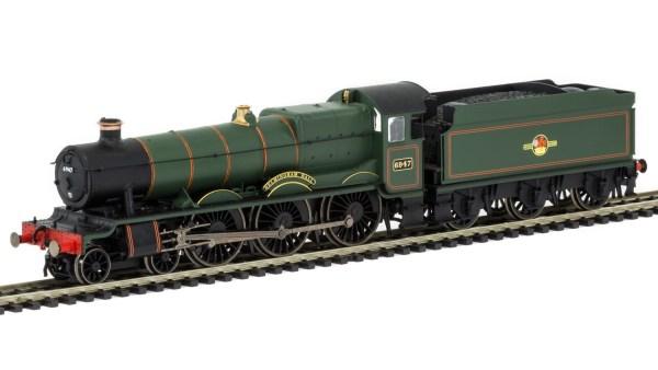 RailRoad, BR, 4900 'Hall' Class, 4-6-0, 6947 'Helmingham Hall' - Era 5