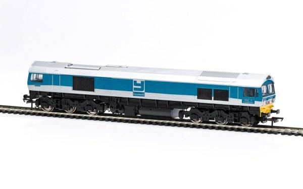 RailRoad Yeoman Aggregates, Class 59, Co-Co, 59004 Paul A. Hammond - Era 8