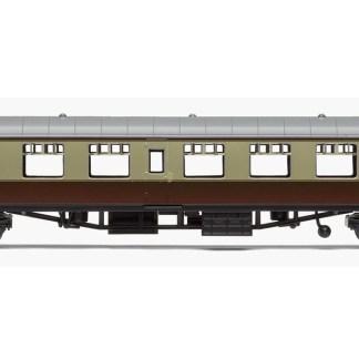 RailRoad, BR, Mk.1 Tourist Second Open Coach, BR Chocolate & Cream - Era 4