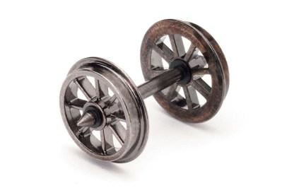 12.5mm Spoked Wheels