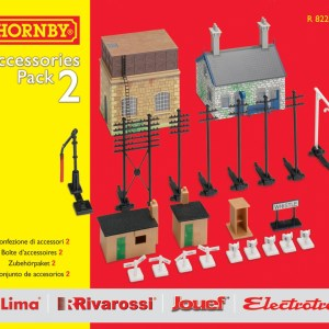Hornby TrakMat Accessories & Building Pack 2