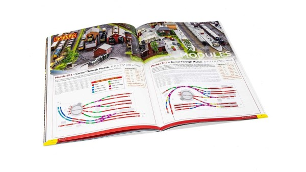 HORNBY R8156 2018 Track Plans Book - Edition 14