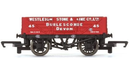Hornby 4 Plank Wagon, Westleigh Stone & Lime Co. Ltd - Era 3