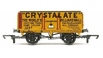 Hornby 7 Plank Wagon, Crystalate - Era 3