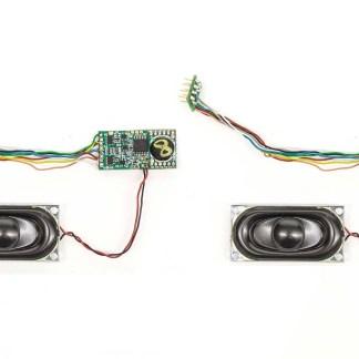 Hornby Twin Pack TTS Sound Decoder: Class 43 (MTU)