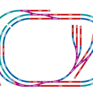 Hornby Medium Sized Oval Layout Complete Track Pack