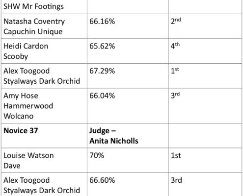 Class 5 and 6 Results 9.7.17