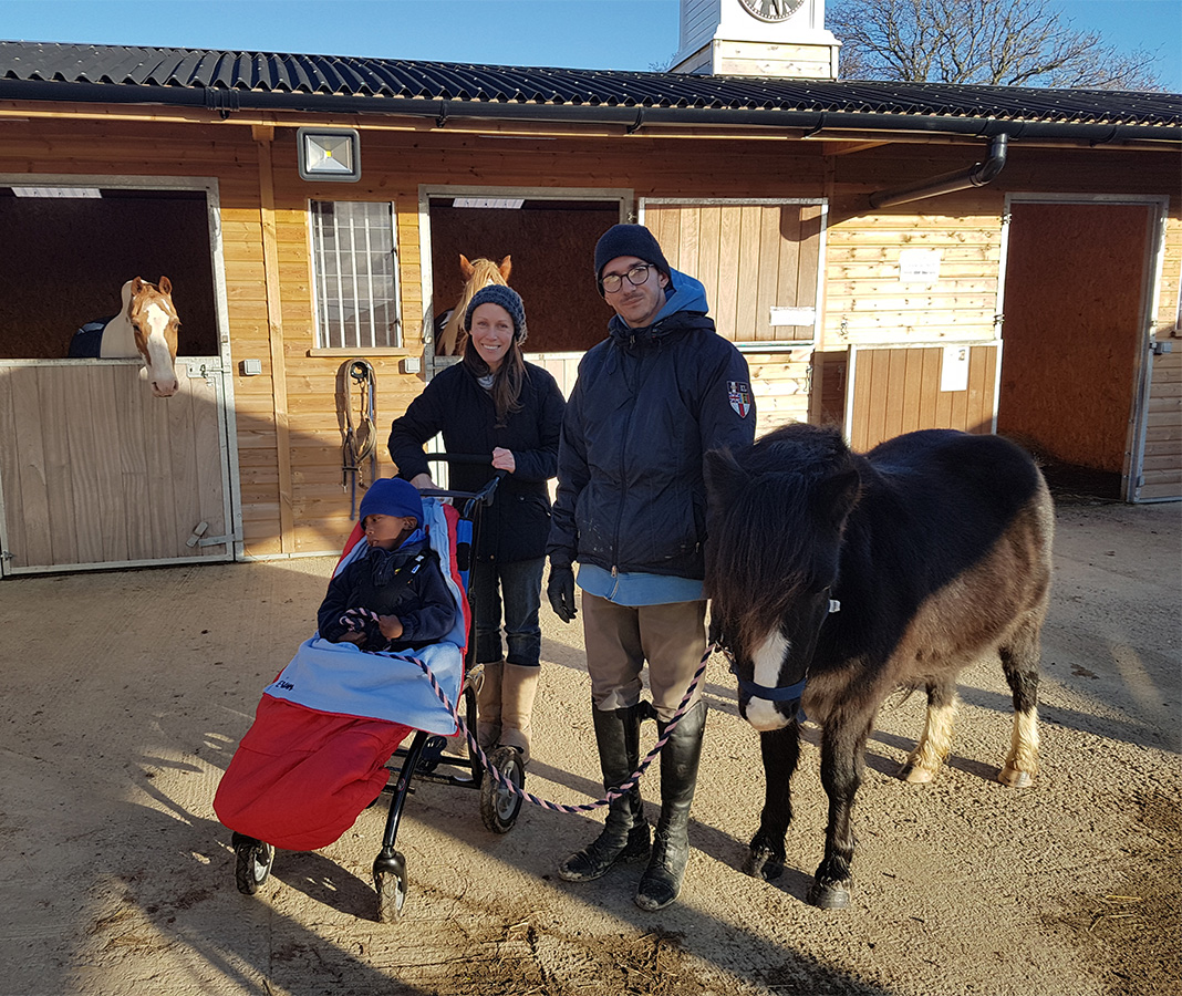 Autistic Wheelchair Horse Riding