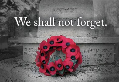 Our clinics are closed November 11 to observe Remembrance Day. Image credit: http://dgh.tldsb.on.ca/wp-content/uploads/sites/41/2014/11/Remembrance-Day.jpg