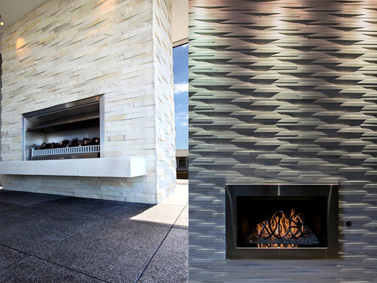 Natural Stone Cladding for Fireplaces and Chimney Breasts  Island Stone