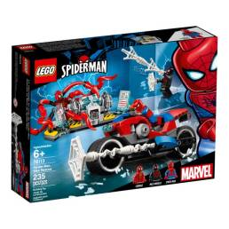 lego spiderman bike