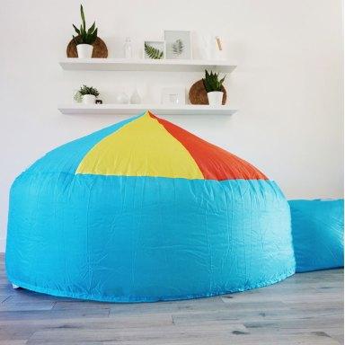 beach ball air fort