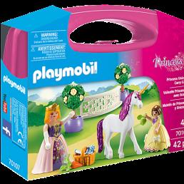 unicorn carry case playmobil