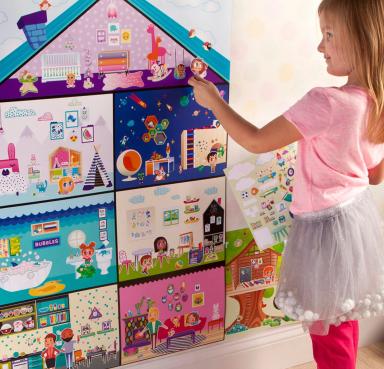 wall sticker playhouse