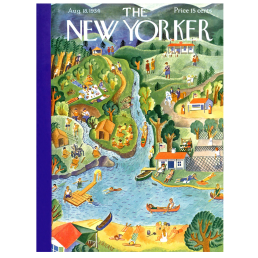 summer vacation puzzle new yorker cover