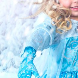 ice princess dress up gloves