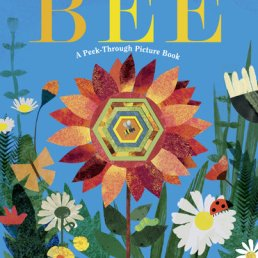 bee peek through book