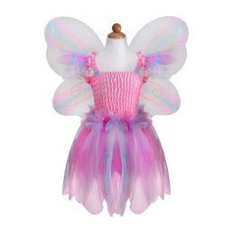 butterfly dress and wings
