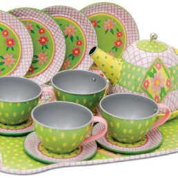 schylling tin tea set