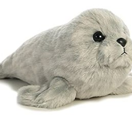 harbor seal mini flopsie