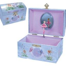 iridescent fairy jewelry box
