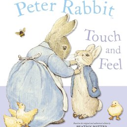 touch and feel board book peter rabbit
