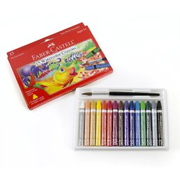 watercolor crayons