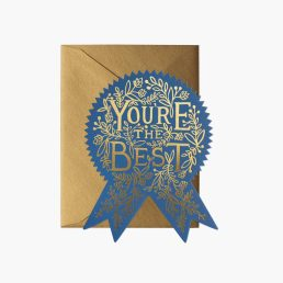 you're the best card rifle paper