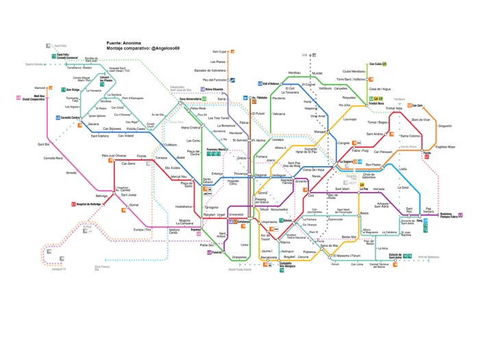 metro español by angeloso69