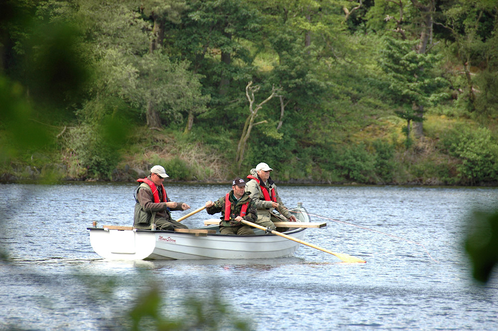 Fly fishing competition on loch ballygrant isle of islay for Fly fishing competitions