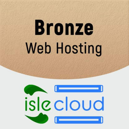 Bronze Web Hosting
