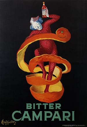 Leonetto Cappiello's Lo Spiritello (The Sprite). Courtesy Estorick Collection of Modern Italian Art