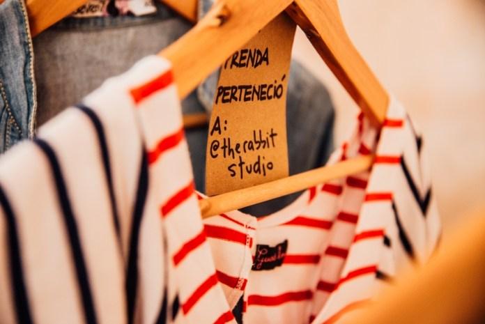 Los tags de las prendas