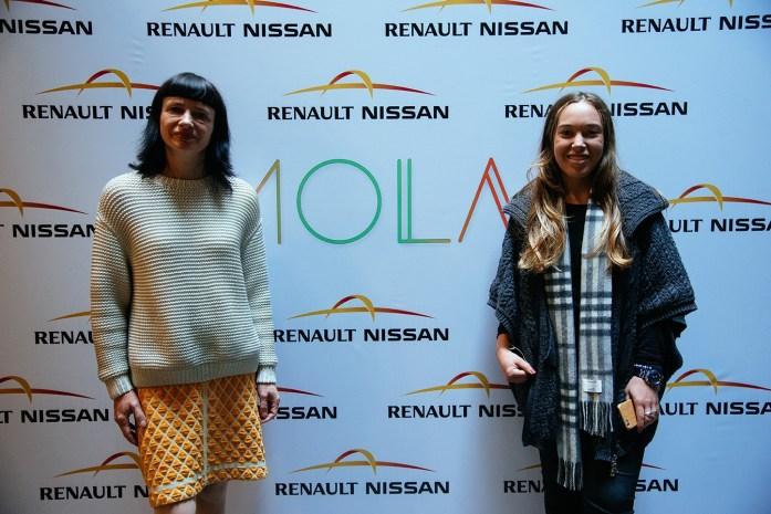 Carry Sommers y yo, country coordinator de Fashion Revolution en Uruguay
