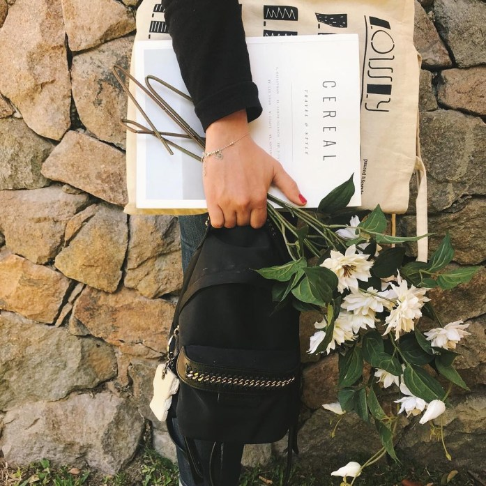islowly eco tote bag some slow lecture flowers and myhellip