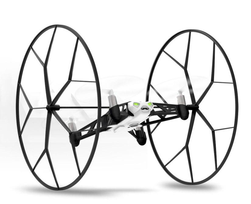 parrot rolling spider mini drone acrobatics