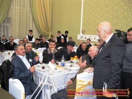 Şəhid ailələri, əlillər və veteranlarla görüş