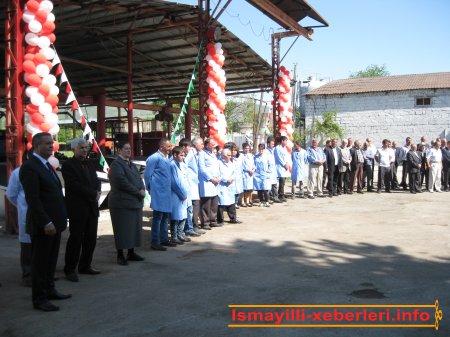 Bərpa və yenidənqurmadan sonra açılan zavod