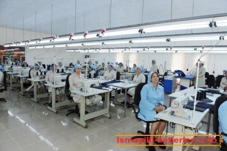 İsmayıllıda tikiş fabriki açılmışdır